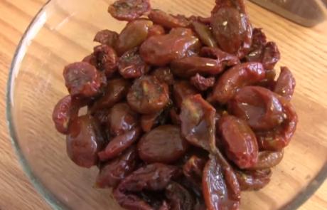 עגבניות מיובשות בתנור | נורית אילון הירש