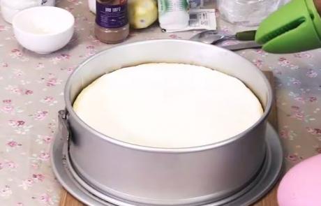 עוגת גבינה אפויה | תמר רוזן